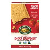 Nature's Path Berry Strawberry Unfrosted Toaster Pastries