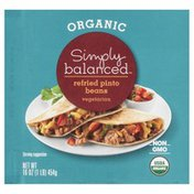 Simply Balanced Pinto Beans, Organic, Refried