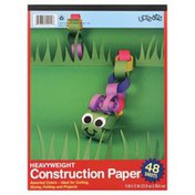U Create Construction Paper, Heavyweight, 48 Sheets, Not Packed