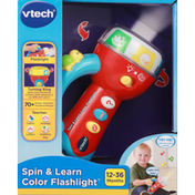 VTech Spin & Learn Color Flashlight, 12-36 Months