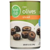 Food Club Sliced Ripe Olives