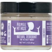 Primal Pit Paste Deodorant, Lavender
