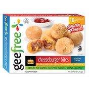 GeeFree Mini Cheeseburger Bites, Gluten Free
