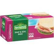 Springfield Sandwich Snap & Seal Bags