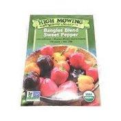 High Mowing Organic Seeds Bangles Blend Sweet Pepper Seeds
