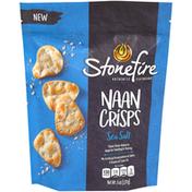 Stonefire Authentic Flatbreads Sea Salt Naan Crisps