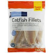 Waterfront Bistro Catfish Fillets, Boneless & Skinless, Family Pack