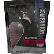 Companion Beef Flavor Snack Dog Sticks