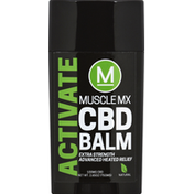 Muscle MX CBD Balm, Activate, Extra Strength, 100 mg