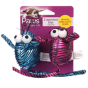 Paws Happy Life 2 Assorted Toys For Cats