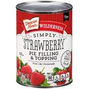 Duncan Hines Strawberry Pie Filling & Topping