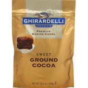 Ghirardelli Cocoa, Sweet, Ground