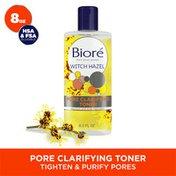 Bioré Witch Hazel Toner, 2% Salicylic Acid, Pore Clarifying Toner, Oil-Free, Dermatologist Tested