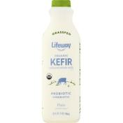 Lifeway Kefir, Organic, Plain, Unsweetened