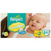 Pampers Swaddlers Big Pack Size 2 Diapers