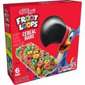 Kellogg's Froot Loops Breakfast Cereal Bars, Fruit Flavored, Original