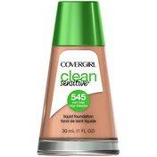 CoverGirl Clean Sensitive COVERGIRL Clean Sensitive Skin Liquid Foundation Warm Beige 1 fl. oz Female Cosmetics