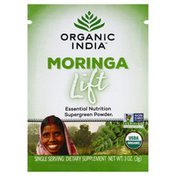 ORGANIC INDIA Moringa, Lift, Single Serving