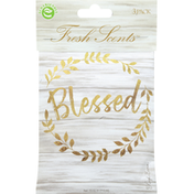 Fresh Scents Scented Sachets, Blessed Wreath, 3 Pack