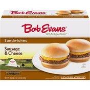 Bob Evans Farms Sausage & Cheese Sandwiches