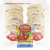 Lofthouse Frosted Sugar Cookies Strawberry
