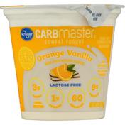 Kroger Yogurt, Low Fat, Orange Vanilla