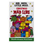 Mad Libs Mr. Men Little Miss Christmas