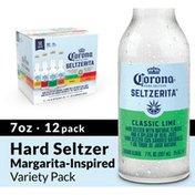Corona Hard Seltzer Seltzerita Gluten Free Variety Pack Bottles