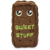 Leaps & Bounds Medium Sweet Stuffed Ice Cream Sandwich Dog Toy