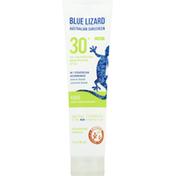 Blue Lizard Sunscreen, Mineral-Based, Kids, Broad Spectrum SPF 30+