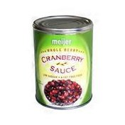 Meijer Whole Berry Cranberry Sauce