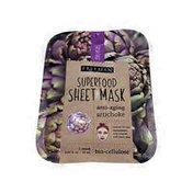 Freeman Anti-aging Superfood Sheet Mask, Artichoke