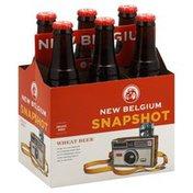 New Belgium Brewing Beer, Wheat, Snapshot