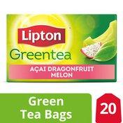 Lipton Green Tea Bags Dragonfruit Melon