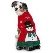 Hldy Medium Snowman Sweater for Pets