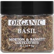 Morton & Bassett Spices Basil, Organic