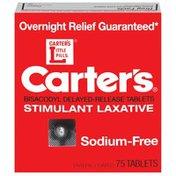 Carter's Sodium-Free Tablets Stimulant Laxative