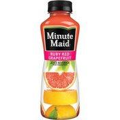 Minute Maid Jtg Ruby Red Grapefruit Blend Bottle