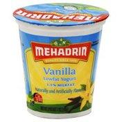 MEHADRIN Vanilla Flavor Natural Non-Fat Greek Yogurt
