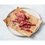 Choice Beef Top Sirloin Strips for Stir Fry
