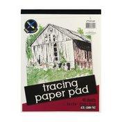 Top Flight Tracing Paper Pad Acid, Lignin Free - 40 CT