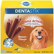 Pedigree Denastix Bacon Flavor Large Dog Treats