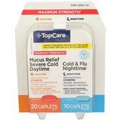 TopCare Fast Mix Day/Night Cold/Flu Caplets