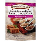 Chatham Village Sprouted Ancient Grains Aged Parmesan Baked Croutons