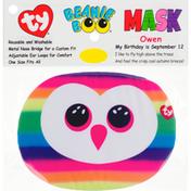 ty Beanie Boo Face Mask, Owen