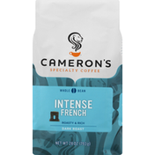 Camerons Coffee, Whole Bean, Dark Roast, Intense French