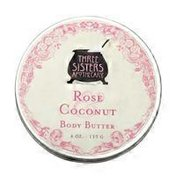 Three Sisters Apothecary Rose Coconut Body Butter