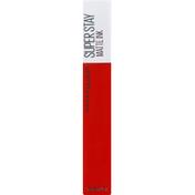 Maybelline Lip Color, Matte Ink, Heroine 25
