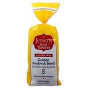 Jensen's Gluten Free Golden Sandwich Bread