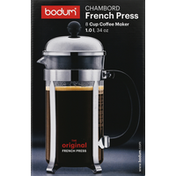 Bodum Coffee Maker, French Press, 8 Cup